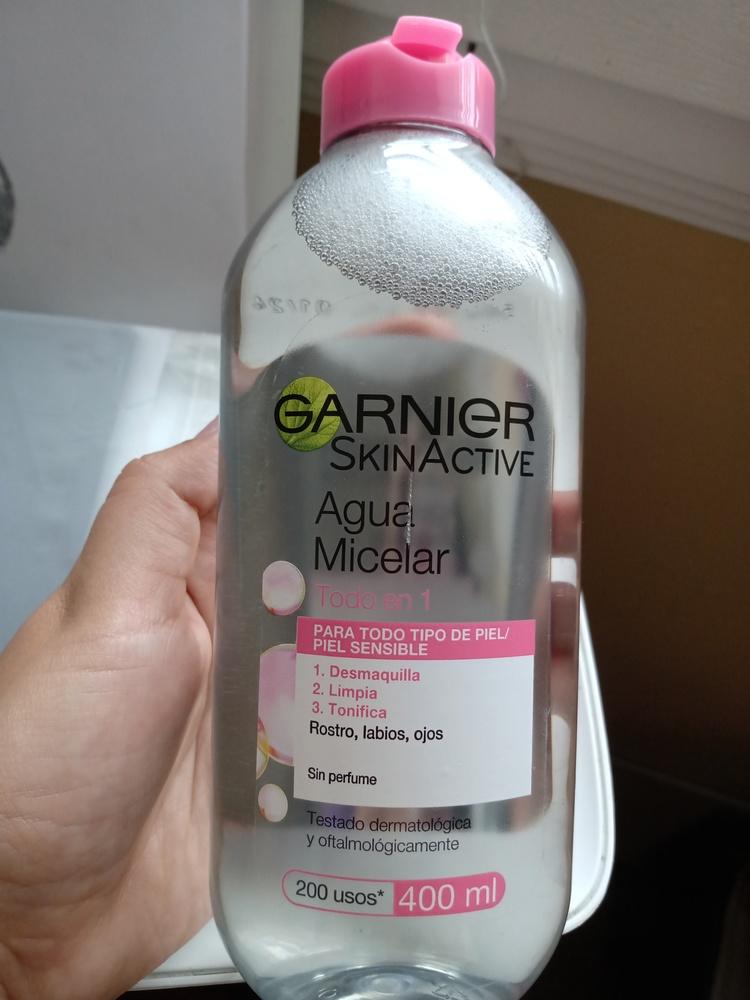 Garnier - Agua Micelar Desmaquillante Todo en 1 de 100ml - SkinActive