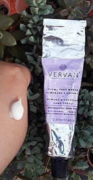 Vervan - Crema Para Manos de Almendra y Lavanda 40 ml