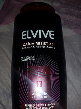 Elvive Caída Resist Arginina Shampoo