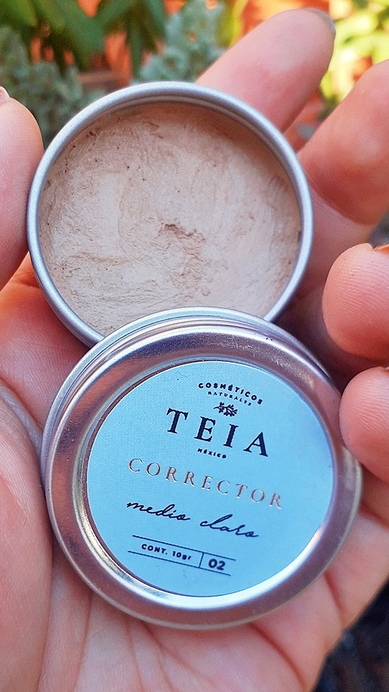 Teia - Corrector Natural Tono Medio Claro 10gr
