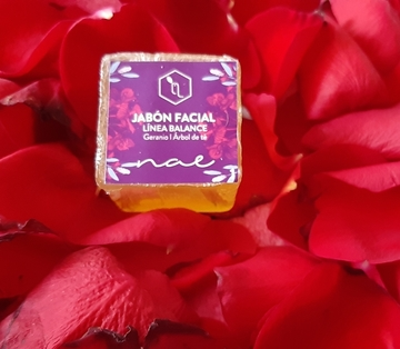 Jabón Facial Geranio Árbol de Té