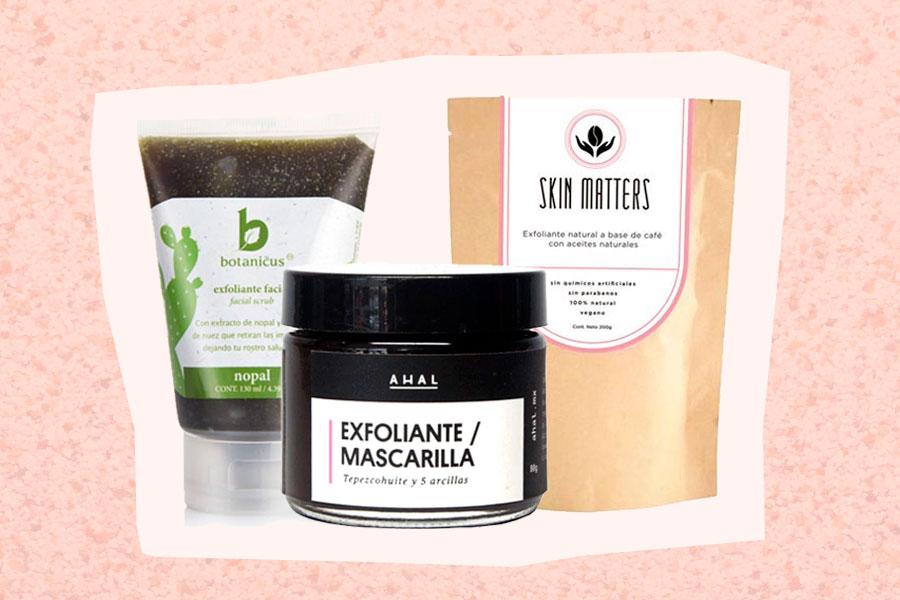 6 Exfoliantes Naturales para Cara y Cuerpo de Marcas Mexicanas (COLECCIÓN)