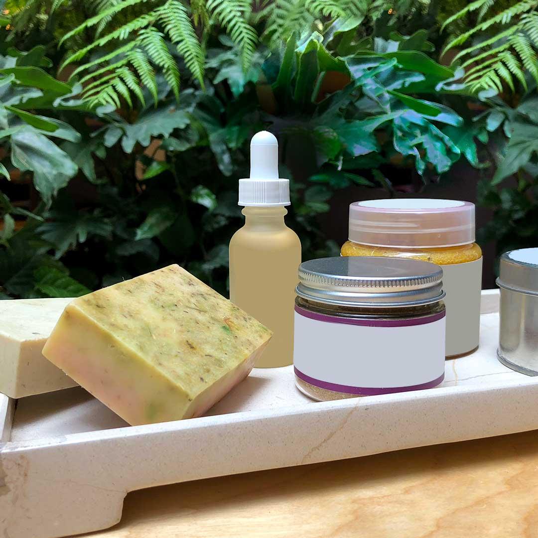 Productos de Belleza Aleatorios lectura de etiquetas
