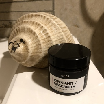 Ahal - Mask & Scrub / Mascarilla - Exfoliante De Tepezcohuite