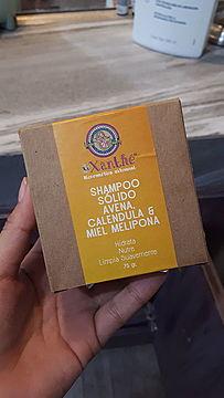 Foto de XiXänthé Shampoo Sólido Avena, Caléndula y Miel