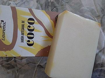 Extraherbos - Jabón Artesanal de Coco
