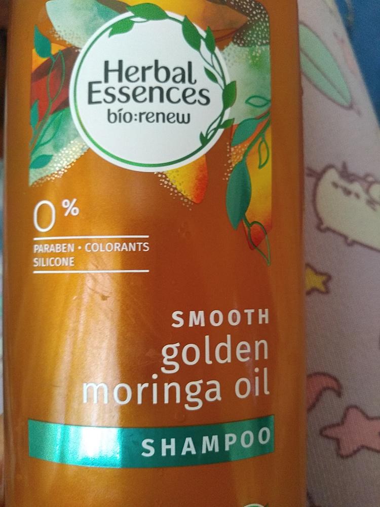 Herbal Essences - Shampoo Smooth Golden Moringa Oil 400 ml