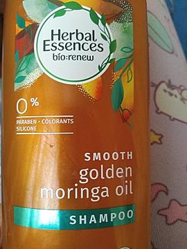Foto de Herbal Essences Shampoo Smooth Golden Moringa Oil 400 ml