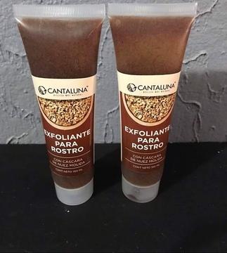 Cantaluna - Exfoliante De Nuez Para Rostro