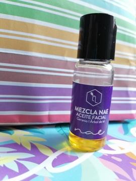 Foto de Nae Mezcla Nae Geranio Arbol de Té (Aceite Facial) 60 ml