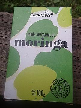 Extraherbos - Jabón artesanal de Moringa
