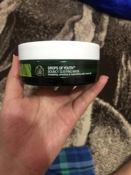 Foto de The Body Shop Mascarilla Nocturna Drops of Youth