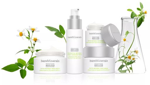 La colección AGELESS Phyto-Retinol incluye un concentrado de noche, crema facial, crema para el cuello y crema para los ojos.