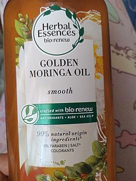 Foto de Herbal Essences Acondicionador Smooth Golden Moringa Oil
