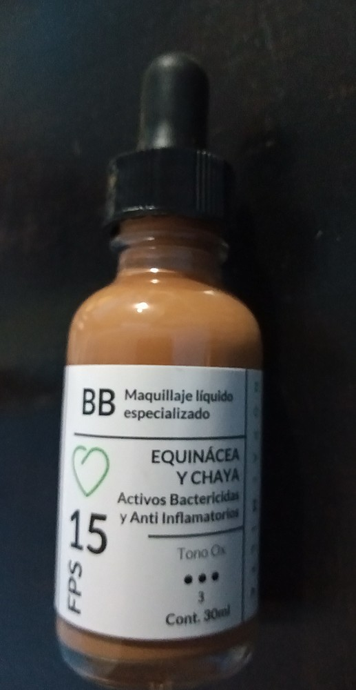 Nopalmilta - BB Maquillaje Antiacné Tono 3 Ox
