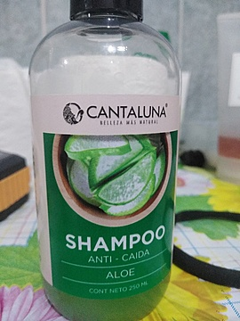 Foto de Cantaluna Shampoo Aloe Anticaída