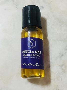 Mezcla Nae Geranio Arbol de Té (Aceite Facial)