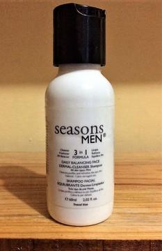 Seasons - 3 en 1 Shampoo Equilibrante Facial Men