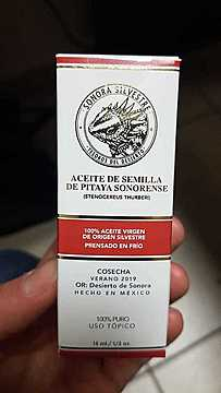 Aceite de Semilla de Pitaya Sonorense