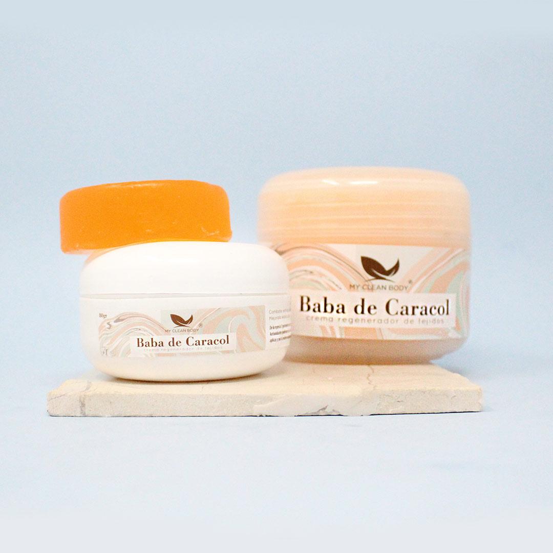 Kit Hidratación y Limpieza con Baba de Caracol My Clean Body