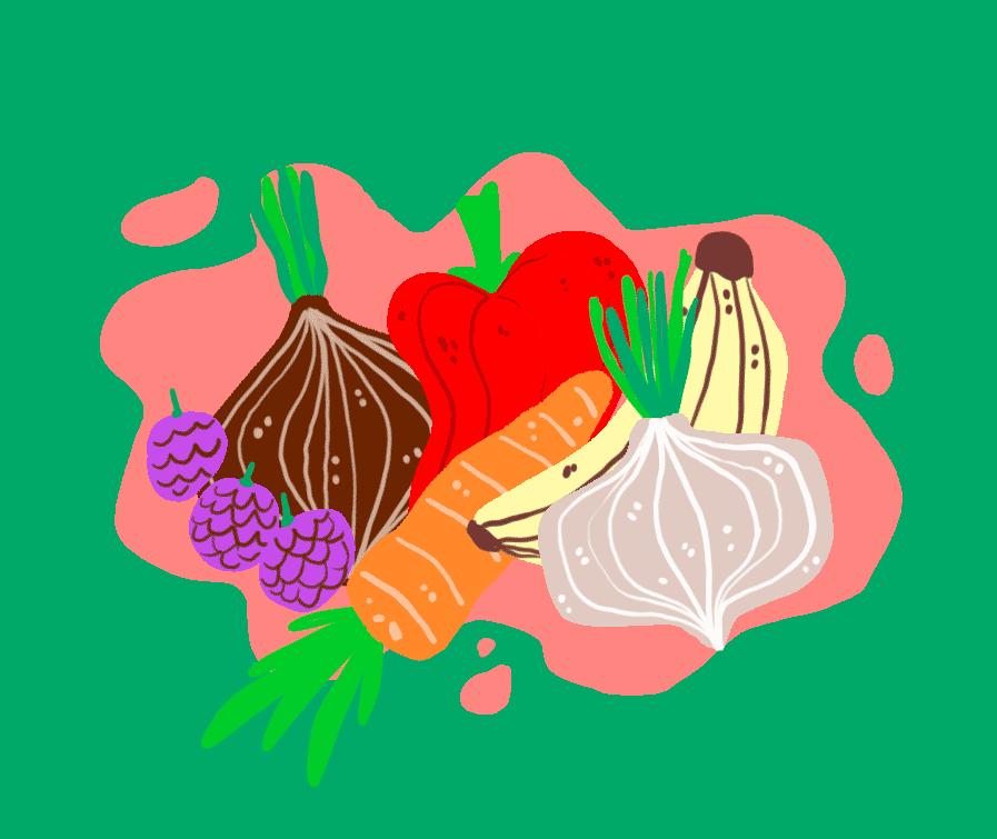 Beneficios de agregar una dieta rica en verduras y frutas