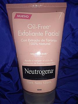 Oil Free Exfoliante Facial con Extracto de Toronja