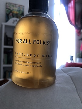 For All Folks - Face / Body Wash 250ml