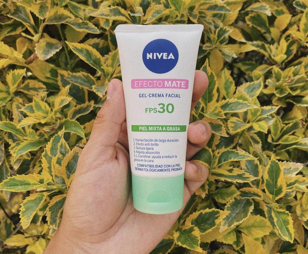 Nivea - Gel-Crema Facial Con FPS 30 Efecto Mate