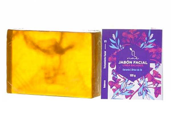 Jabón facial Geranio y Árbol de Té de NAE (Piel Mixta)