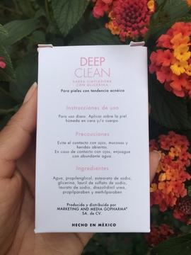 Foto de Skin Der Deep Clean Barra Limpiadora Con Glicerina