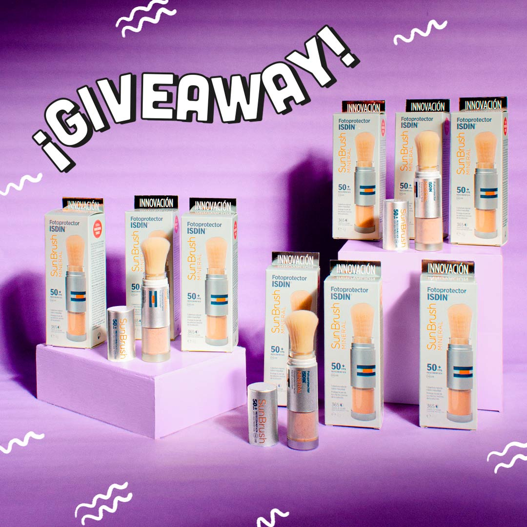 Giveaway Serendipia Beauty Box ISDIN