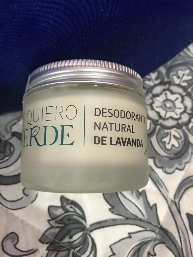 Te Quiero Verde - Desodorante Natural de Lavanda