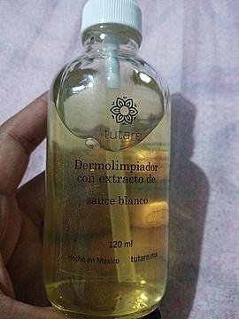 Dermolimpiador con Extracto de Sauce Blanco
