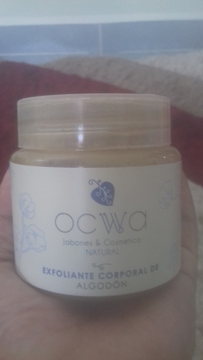 Ocwa - Exfoliante Corporal de Algodón