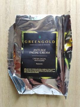 Crema Facial Anti Edad con Aceite de Aguacate y Ácido Hialurónico