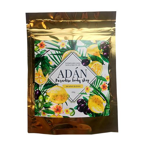 exfoliante de arbol de limón adán