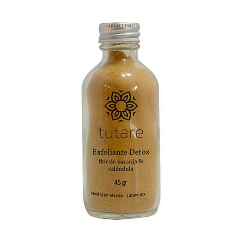 Exfoliante Detox Flor de Naranja y Caléndula