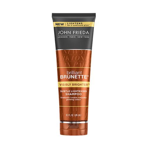 BRILLIANT BRUNETTE. Visibly Brighter Shampoo