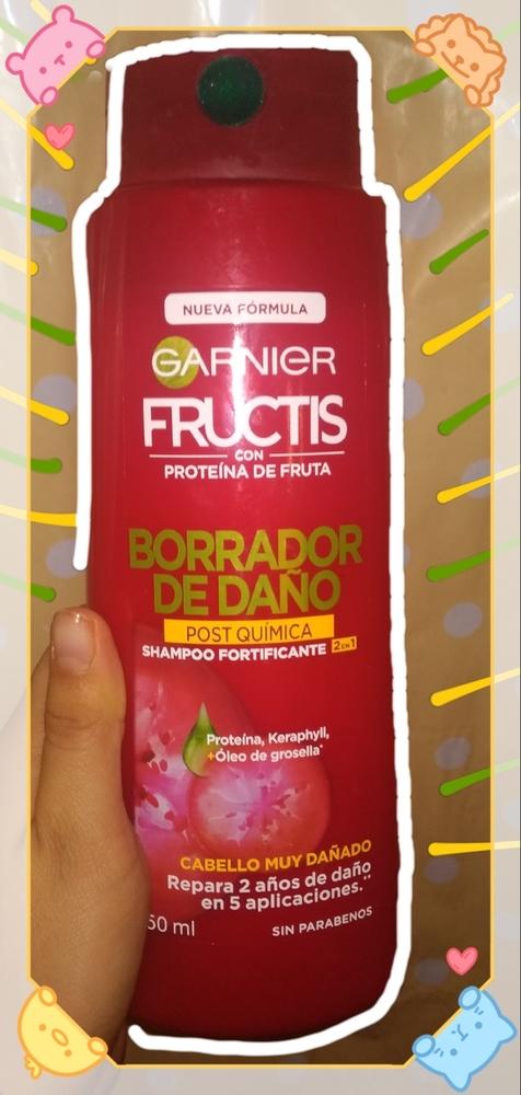 Garnier - Fructis Stop Caída Shampoo Fortificante