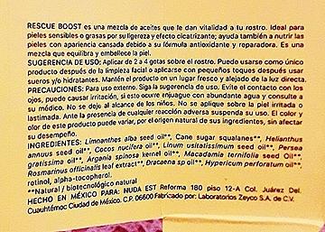 Rescue Boost Mezcla de Aceites Antifatiga