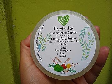 Nopalmilta - Tratamiento Crema Para Peinar