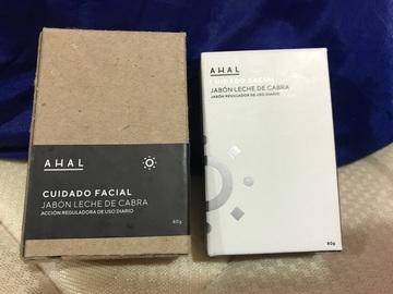 Jabón Limpieza Facial de Leche de Cabra