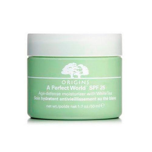 Crema Hidratante Prevención Anti-Edad SPF25 con Té Blanco