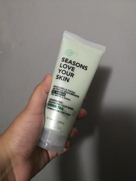 Seasons - Mascarilla Facial Nutritiva Equilibrante Té Verde