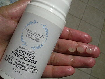 Agua de Nube - Crema Facial de Aceites Preciosos