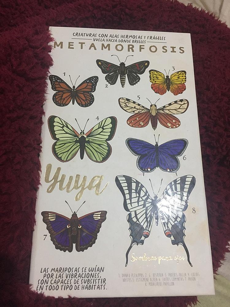 """Republic Cosmetics - Yuya Set De Sombras 18 Colores - """"Metamorfosis"""""""