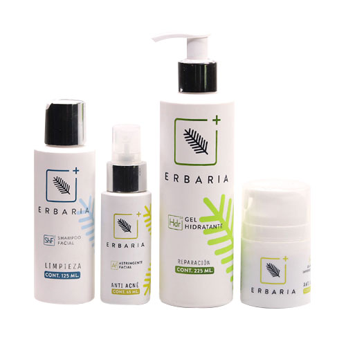 Kit Facial Anti-Acné ERBARIA