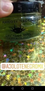 Ajolote Negro - Gel Hidratante Aloe
