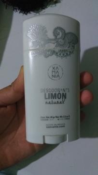 Xamania - Desodorante en Barra - Limón