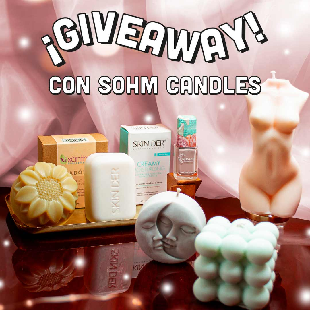 Kit Enciende tu luz con Sohm Candles